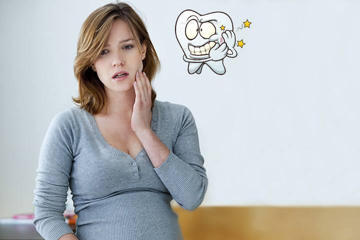 có nên nhổ răng sâu khi mang thai